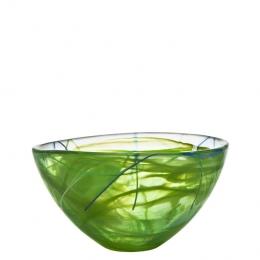 CONTRAST Bowl Lime by Anna Ehrner - Ø 230 mm - Kosta Boda - 7050613
