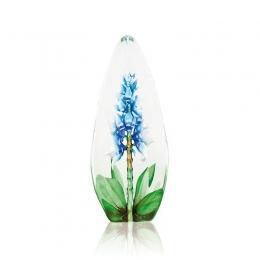 Mats Jonasson Crystal - FLORAL FANTASY Orchid blue - 33818
