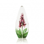 Mats Jonasson Crystal - FLORAL FANTASY Orchid red - 33819