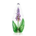 Mats Jonasson Crystal - FLORAL FANTASY Orchid large crystal sculpture - 33820