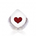 Målerås Crystal - GLOBAL ICONS Heart small by Mats Jonasson - 33772