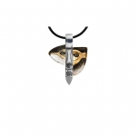 Mats Jonasson Crystal Jewellery - LIMITED EDITION Necklace Atle Gold - 84305