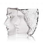 Mats Jonasson Crystal - LIMITED EDITION - MASQ Sculpture 'Together' - 65837