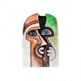 Mats Jonasson Crystal - LIMITED EDITION - MASQ Zador I green/brown - 65855