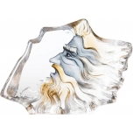Mats Jonasson Crystal - LIMITED EDITION - MASQ Poseidon III - 65871