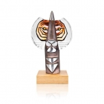 Mats Jonasson IRON & CRYSTAL - LIMITED EDITION - Sculpture The Hunter II - 68143