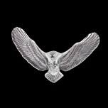 Mats Jonasson Iron & Crystal - LIMITED EDITION - INTO THE WOODS - Eagle wall sculpture by Ludvig Löfgren - 68122