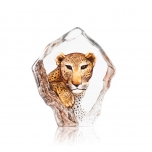 Mats Jonasson Crystal - LIMITED EDITION - WILDLIFE The Big Five - Leopard - 34113
