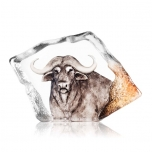 Mats Jonasson Crystal - LIMITED EDITION - WILDLIFE The Big Five - Buffalo - 34116