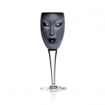 Mats Jonasson - MASQ Stemware Electra wine glass black - 42013