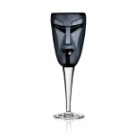 Mats Jonasson - MASQ Stemware Kubik wine glass black - 42018