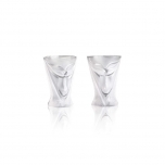 MASQ TABLEWARE Rackarn Schnaps 2-pack clear