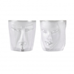 MASQ TABLEWARE Tumbler 2-pack clear