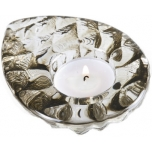 INTO THE WOODS painted crystal tealight candleholder by Ludvig Löfgren - 69044