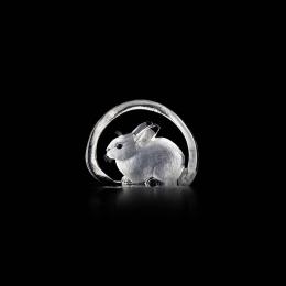 Mats Jonasson Crystal - WILDLIFE MINIATURE Rabbit - 88101