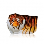 Mats Jonasson Crystal - WILDLIFE PAINTED - Tiger - 33850
