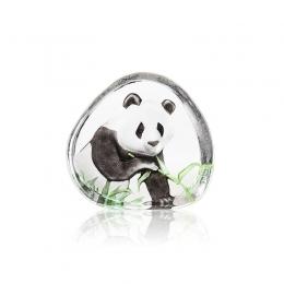 Mats Jonasson Crystal - WILDLIFE PAINTED - Panda - 33937