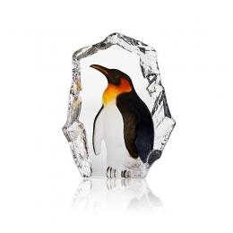 Mats Jonasson Crystal - WILDLIFE PAINTED - Penguin - 34272