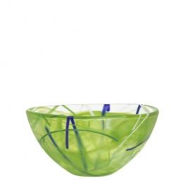 CONTRAST Bowl Lime by Anna Ehrner - Ø 160 mm - Kosta Boda  - 7050513