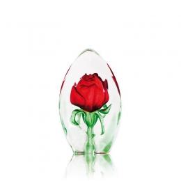 Mats Jonasson Crystal - FLORAL FANTASY Rose large - 33838