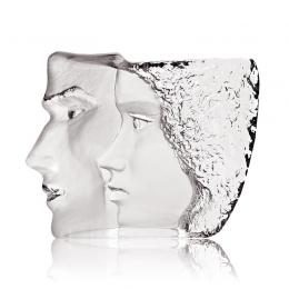 Mats Jonasson Crystal - LIMITED EDITION - MASQ Sculpture 'Together' - 65837