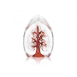 Mats Jonasson Crystal - NORDIC ICONS Yggdrasil small red - 33980
