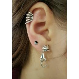Oh la la Jewellery EARRINGS - nickel free silver Earring ''Cat''