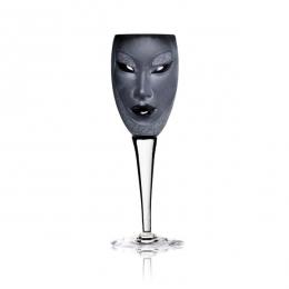 Mats Jonasson - MASQ Stemware Electra wine glass black - 42013