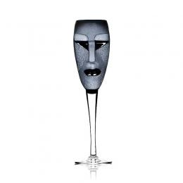 Mats Jonasson - MASQ Stemware Kubik Champagne black - 42035